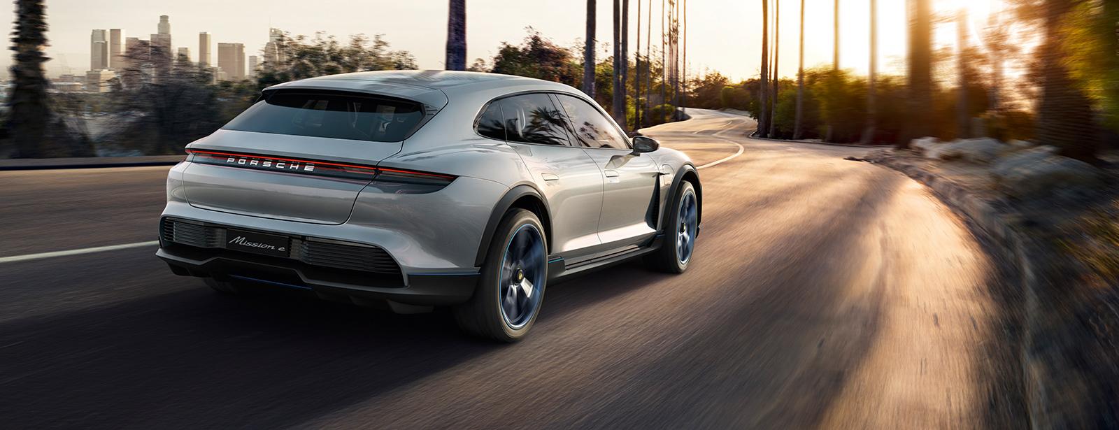 Porsche Mission E Cross Turismo Aktuelles Juni 2018